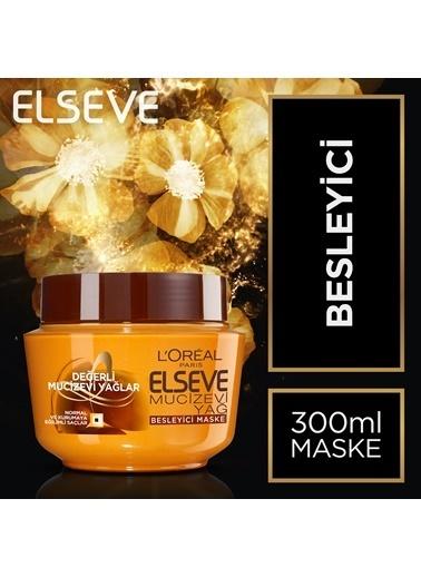 L'Oréal Paris Elseve 6 Mucizevi Yağ Besleyici Maske 300 Ml Renkli